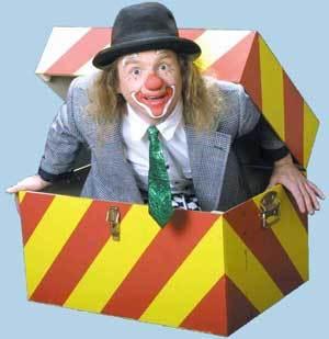 Unterhaltung Tag der offenen Türe Gewerbeschau Clown