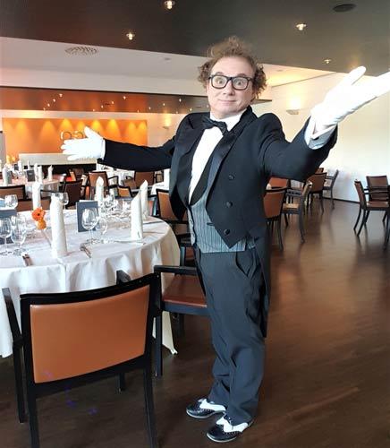 Bauchredner Zauberer 50. Geburtstag