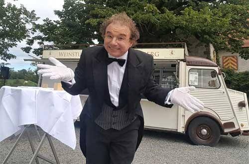 Hochzeit planen Ideen mit dem Zauberer und Butler