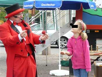 Kindergeburtstag und Zauberer
