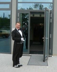 Archibal bei der Volksbank in Ludwigsburg