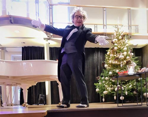 Weihnachtsfeier Firma Zauberer