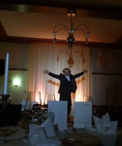 Zauberer im Hotel Jordanbad in Biberach