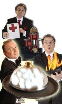 Künstler Entertainer Zauberer Comedy Show Event Unterhaltung